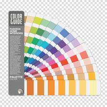 Color Guide On Transparent Bac...