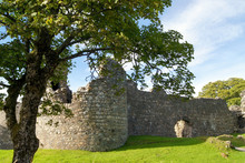 The Ruins Of The Old Inverlochy Castle In Fort William