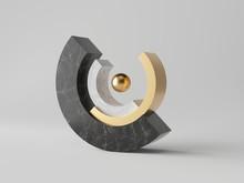 3d Abstract Minimal Modern Bac...