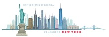 Vector Illustration Of New Yor...