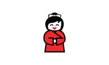 Japan Girl Chibi Mascot Royalt...