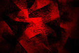 black and red hand painted brush grunge background texture