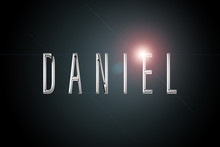 First Name Daniel In Chrome On...