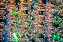 Close-up Bubble Chandelier Cei...