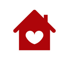Home Icon With Heart