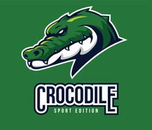 Crocodile Logo Sport For Symbol