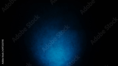 Obraz Dark, blurred, simple background, blue black abstract background gradient blur - fototapety do salonu