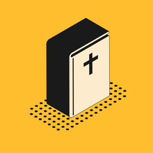 Isometric Holy Bible Book Icon...