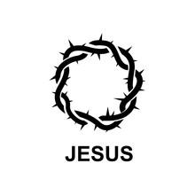 Black Crown Of Thorns Logo