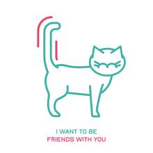 Cat Behavior Icon