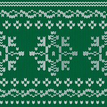 Winter Holiday Knitted Pattern...
