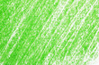 canvas print picture - Green pencil hatching as background, top view