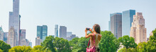New York City Tourist Taking P...