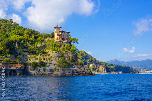 Seaside villas near Portofino in Italy