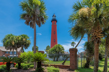 Ponce Inlet Lighthouse, Daytona Beach, Florida.