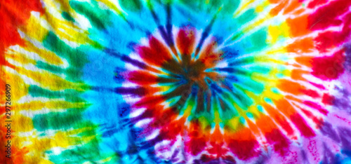 Photo sur Toile Spirale Tie dye background