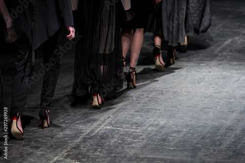 Fotografie, Tablou Fashion Show, Catwalk Runway Event
