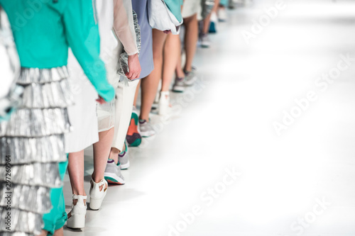Poster New York Fashion Show, Catwalk Runway Event