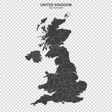 Political Map Of United Kingdo...