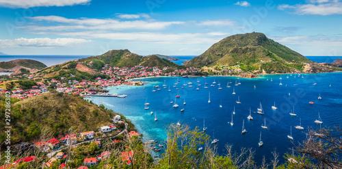 Photo Panoramic landscape view of Terre-de-Haut Island, Guadeloupe, Les Saintes