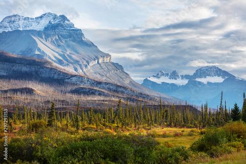 Foto auf Gartenposter Himmelblau Autumn in Canada