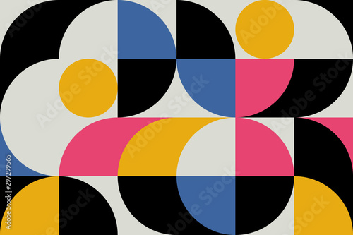 Pinturas sobre lienzo  Abstract Geometry Pattern Artwork