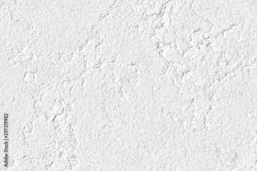 White stone grunge background, rough rock wall texture Wallpaper Mural