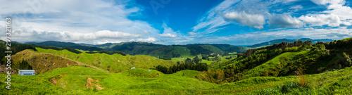 Obraz Hills of New Zealand - fototapety do salonu