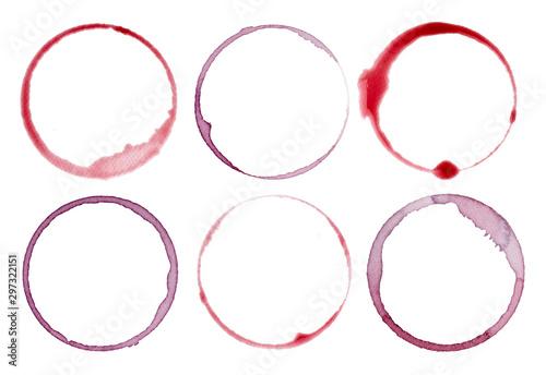 Obraz na plátně  wine stain fleck beverage drink alcohol
