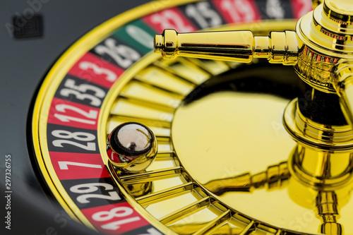 Fotografía  roulette gambling in the casino