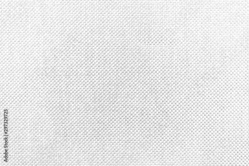 White natural texture of knitted wool textile material background Fototapet
