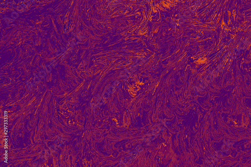 Fototapety, obrazy: Abstract grunge art background texture with colorful paint splashes