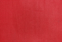 Texture Of Red Textile Fabric Material With Pattern Background