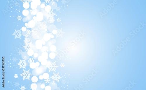 Fotomural sfondo, elegante, natale, fiocchi di neve,