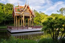 Thai-Sala / Thailändischer Tempel Im Westpark München