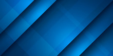 Abstract Blue Diagonal Overlap Background