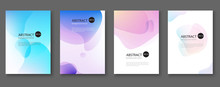 Set Of Abstract Vector Backgro...