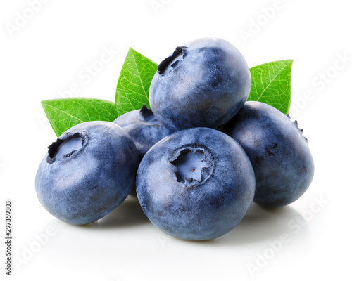 Fotomural  Blueberries