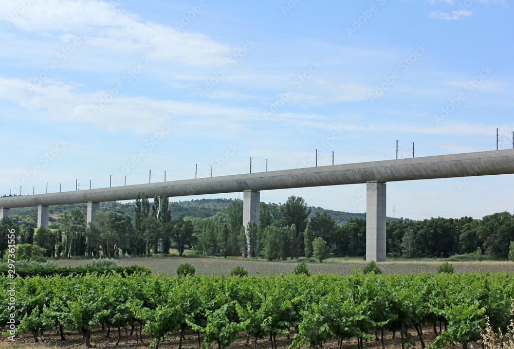 Fototapety, obrazy: viaduc moderne