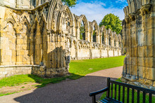 St. Mary's Abbey, Museum Garde...