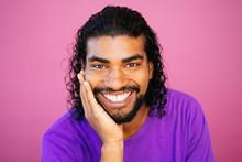 Portrait Of An Afrolatino Youn...