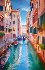 Fototapeta Uliczki Canal in Venice, Italy