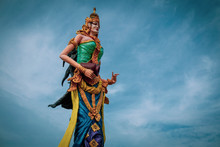 Javanese Statue Of Nyi Rara Kidul
