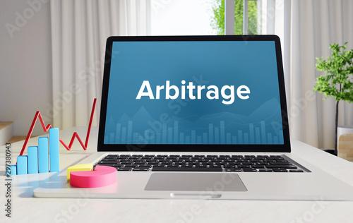 Arbitrage – Statistics/Business Fototapete