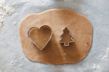 Dough Of Gingerbread Cookie Wi...
