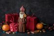 canvas print picture - Saint Nicholas gift