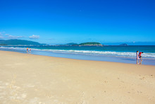Exotic Beach In Sanya On The T...