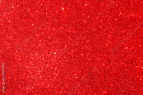 obraz PCV Red Glitter Texture Abstract Background, for any celebration, christmas, new year, birthday, valentin's day...