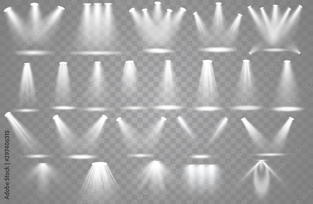 Fototapety, obrazy: Spotlight light effect