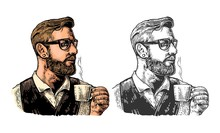 Hipster Barista With The Beard...